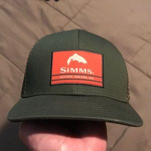 Simms trucker hat
